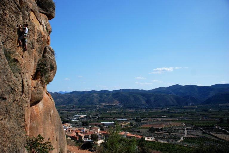 Obóz wspinaczkowy w Hiszpanii - Costa Blanca, wspinanie w Gandii