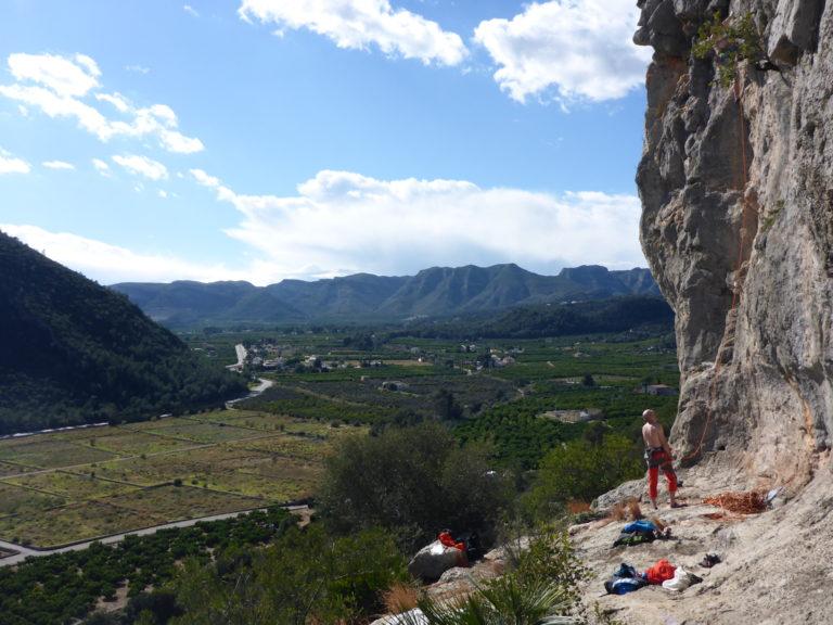 Obóz wspinaczkowy w Hiszpanii - Costa Blanca, wspinanie w rejonie Gandia