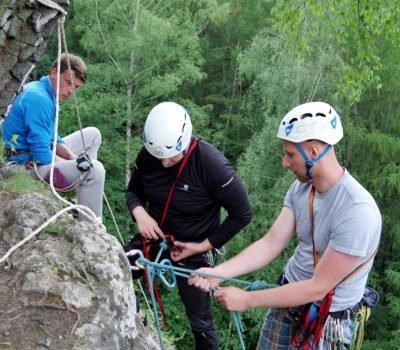 Kurs wspinaczki - wspinanie na Kuli w Dolinie Kobylańskiej