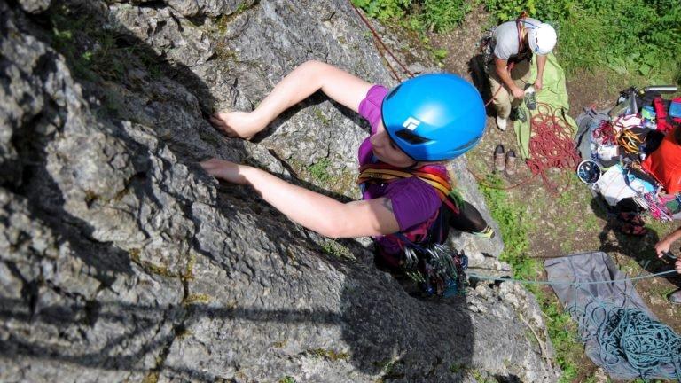 Kurs skałkowy - nauka asekuracji własnej