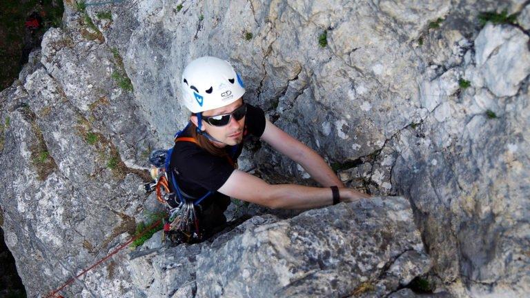 Kurs skałkowy - Wspinanie na własnej asekuracji