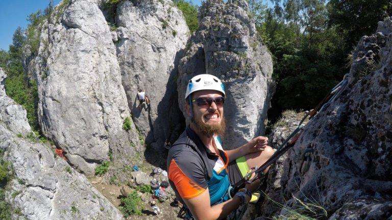 Kurs wspinaczki skalnej - Nauka prowadzenia dróg wspinaczkowych