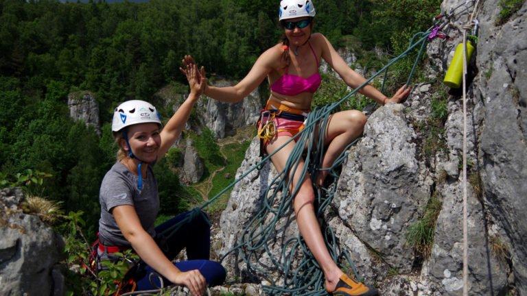 Kurs wspinaczki skalnej - Nauka wspinania w zesople