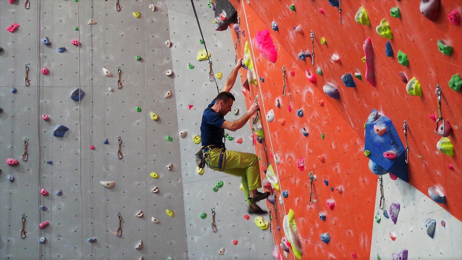 Trening wspinaczkowy w Katowicach