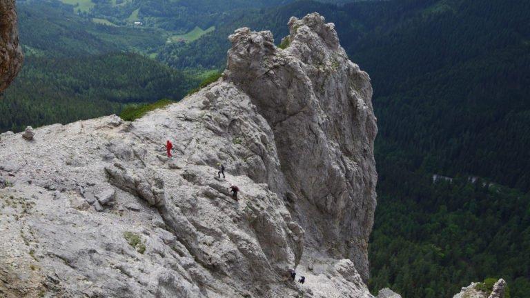 Przepiękna górska sceneria - masyw Rax i ferrata Hans von Heidsteig