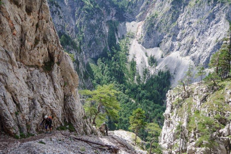 Austria via ferrata Hollental