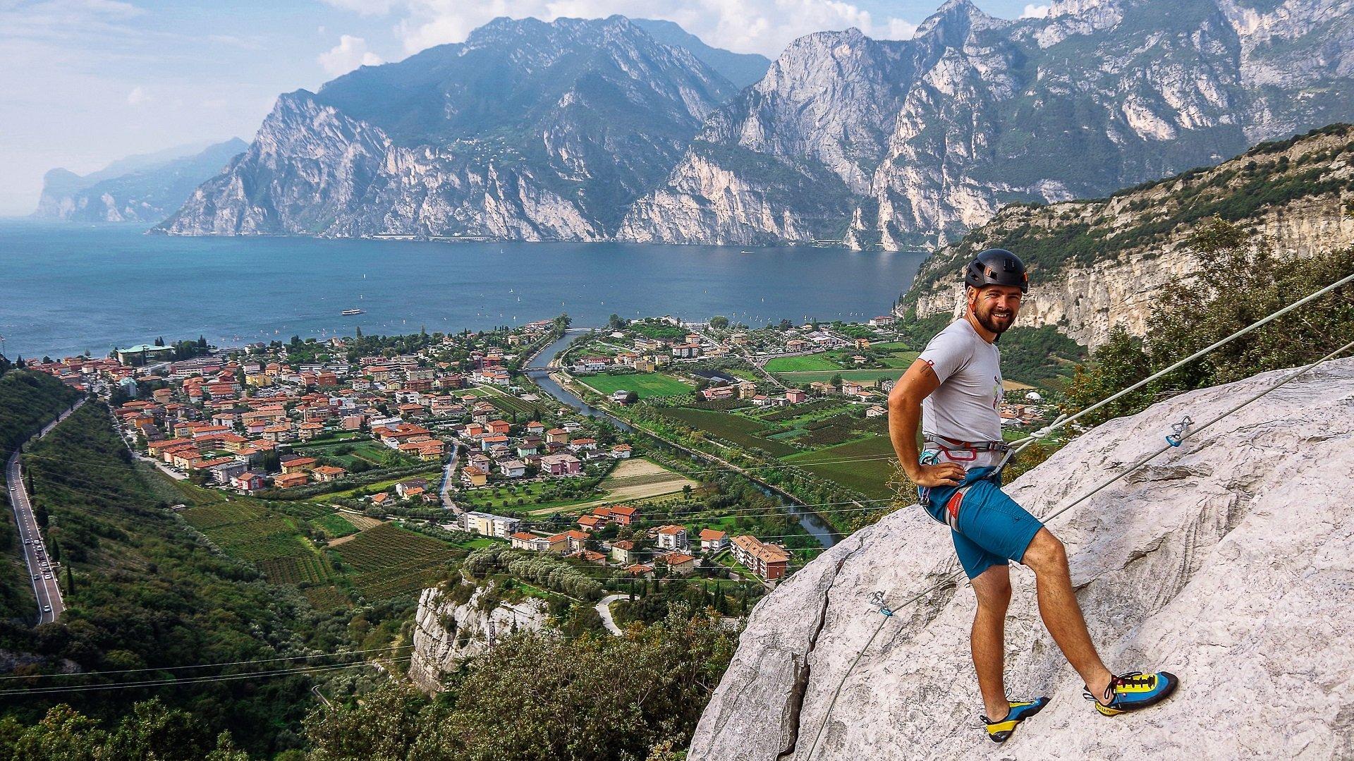 Włochy - wspinanie w rejonie Belvedere