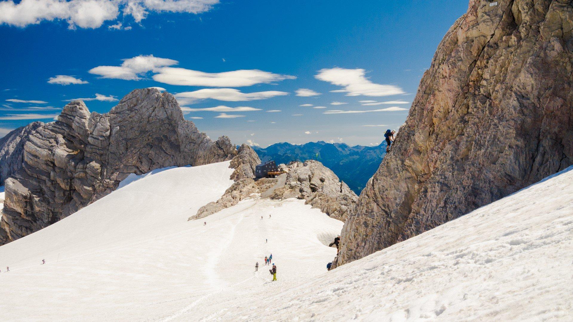 Dachstein - wspinaczka na via ferracie Schulter
