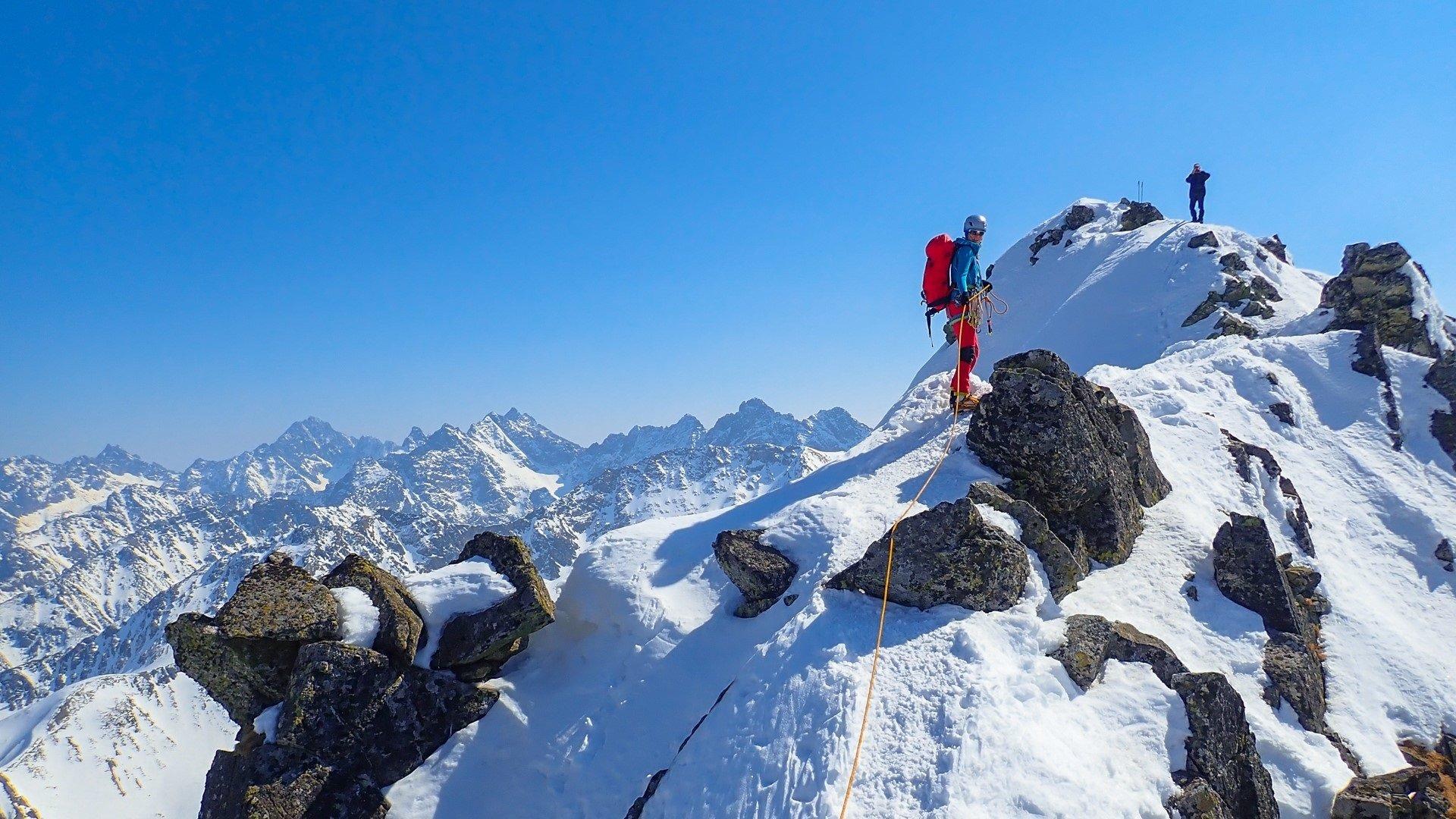 zimowy kurs turystyki wysokogórskiej - na Granatach