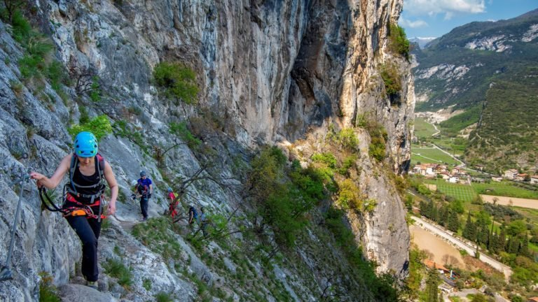 via ferraty nad jeziorem Garda - via ferrata Colodri