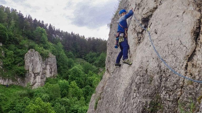 Kurs skałkowy - kurs dolina Kobylańska