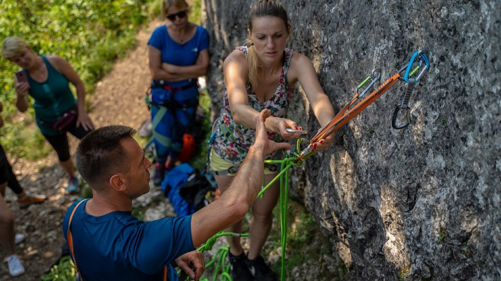 Kurs wspinaczki online, szkolenie wspinaczkowe online